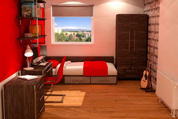 University Bedroom Range - Austen 1