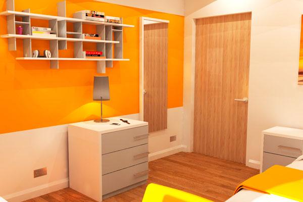 University Bedroom Furniture - Beckford 2
