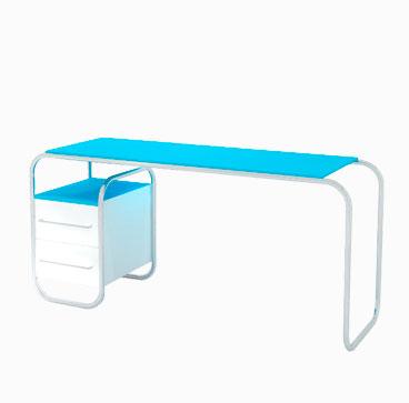 Metal Framed Desk - Dahl