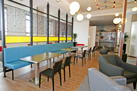 University Restaurant - Banquette Seating
