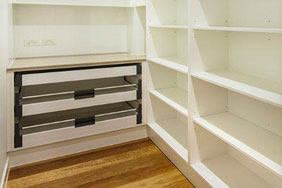Bespoke Laboratory Furniture - Walk in Storage