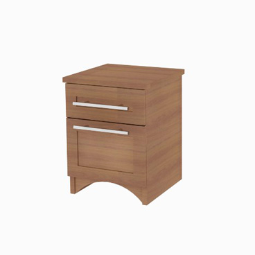 Bedside Table - Heather
