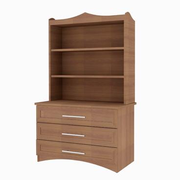 Bookcase Dresser - Heather