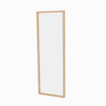 Wall Hung Mirror with Frame - Jasmine