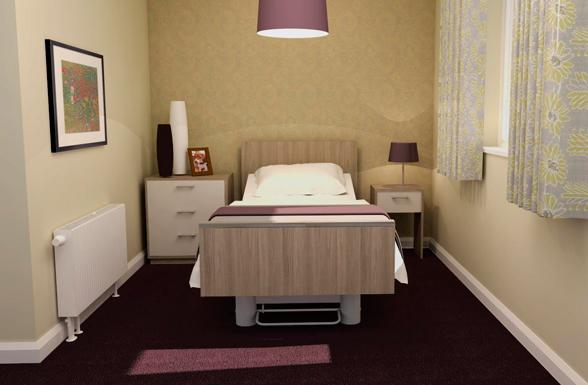 Iris - Healthcare Furniture Bedside Unit