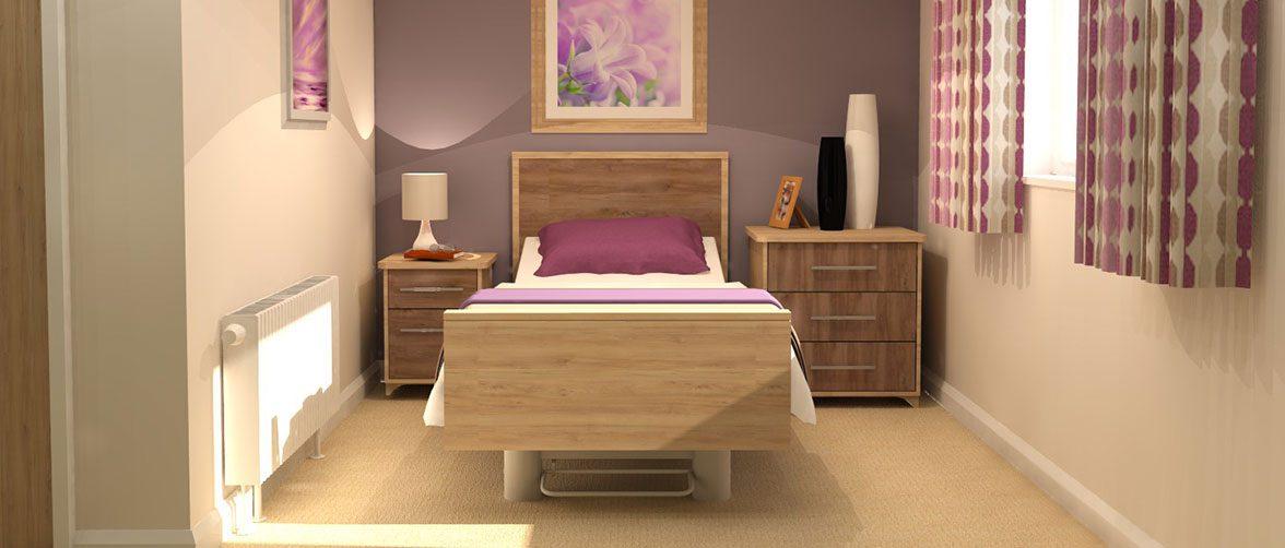 Care Bedroom Furniture Range - Jasmine