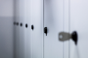 University Lockers - grey-lockers-with-keys