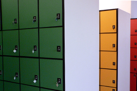 University Lockers - multi-coloured-square-lockers