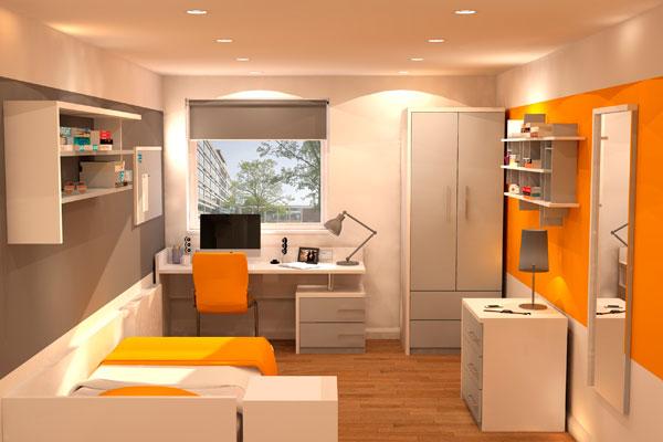 University Bedroom Furniture - Beckford 1