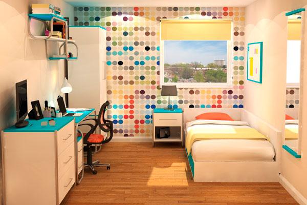 University Bedroom Furniture - Dahl Bed