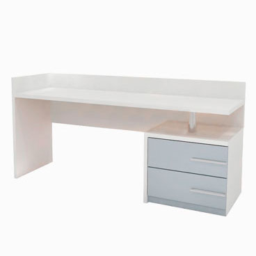 Single Pedestal Desk - Beckford