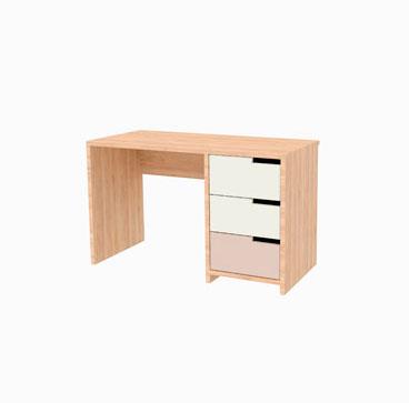 Single Pedestal Desk - Blake