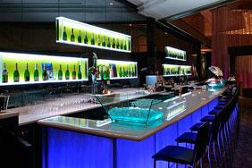 Bespoke University Bar - Modern Glass
