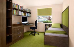 University Bedroom - Walnut