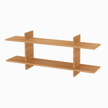 Wall Mounted Shelf - Clover