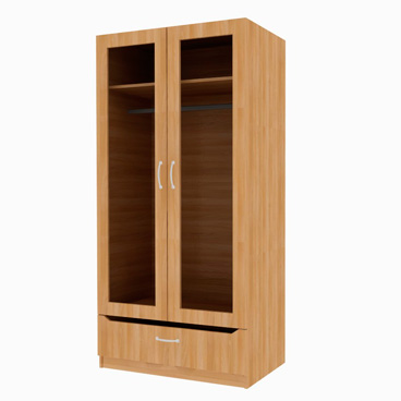 1 Drawer Wardrobe - Clover