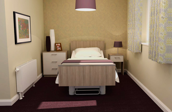 Iris - Healthcare Furniture Bedside Unit