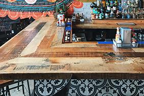 Bespoke University Bar - contemporary-bar-counter-design