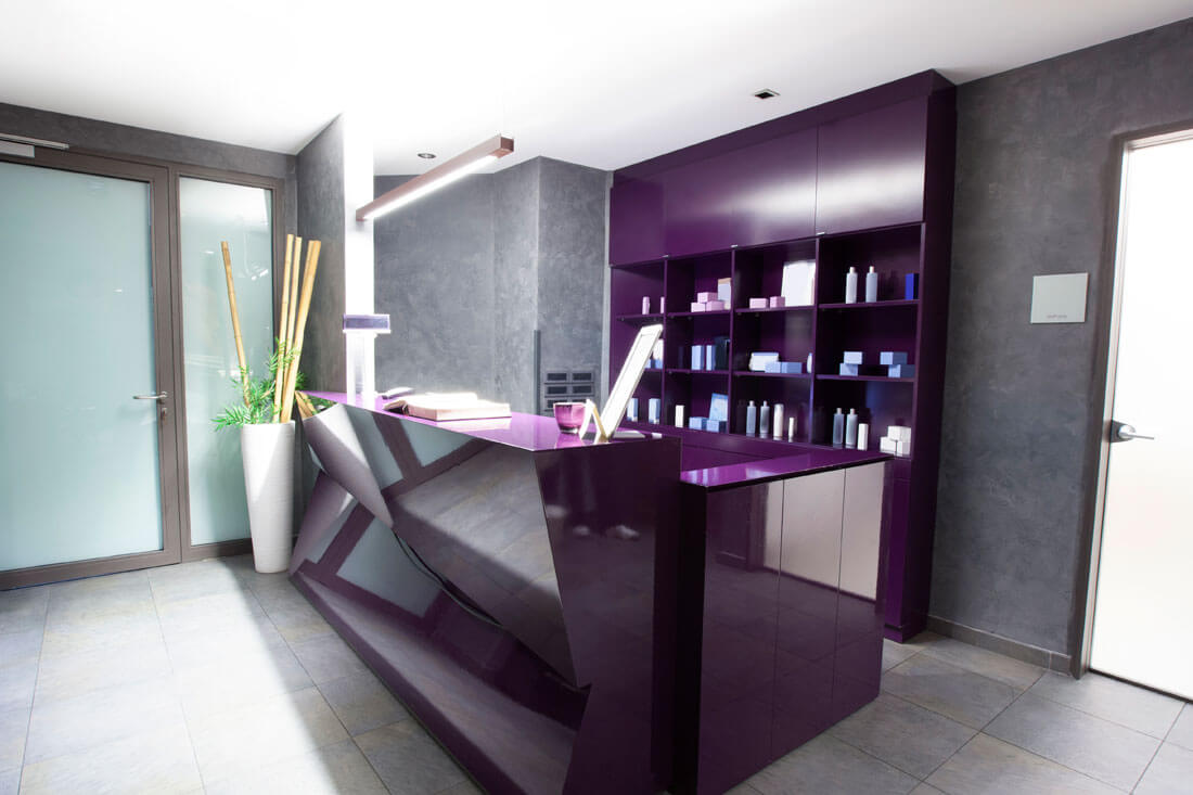 University Reception - reception-desk-hotel-spa