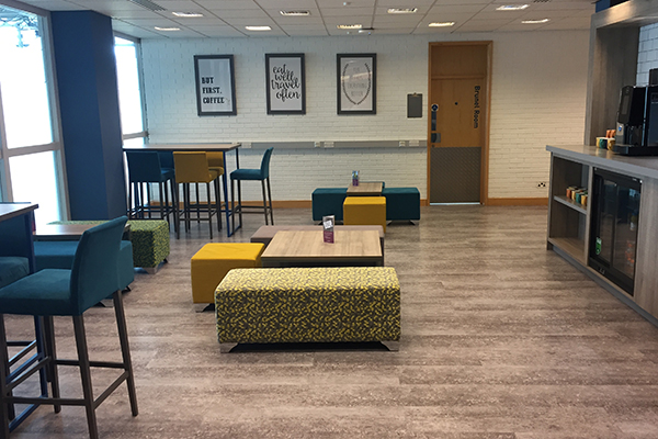 University Breakout Area Seating